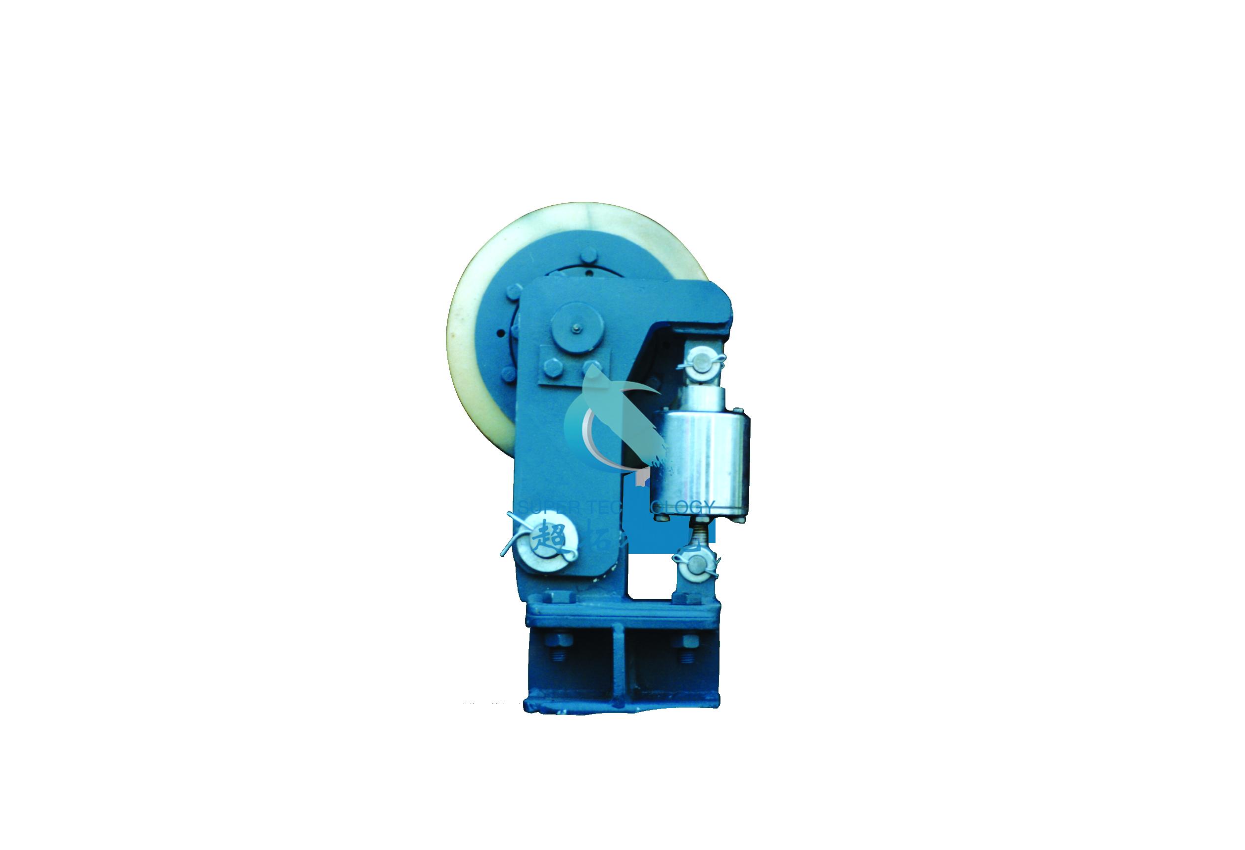 液压浸油式滚轮罐耳